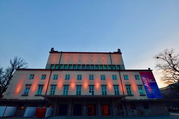 Historisches Eventforum, zentral, an der Isar - Fassade