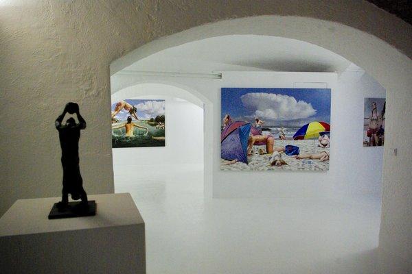 LOFT-Galerie mit Bar und Außenbereich